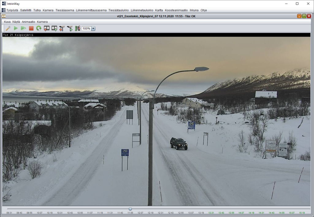 Road weather camera image